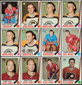Hockey Cards:Lots, 1969 Topps Hockey Collection (209). ...
