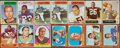 Football Cards:Lots, 1948 to 1967 Topps, Bowman, Fleer and Philadelphia Football Collection (292). ...