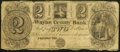Obsoletes By State:Michigan, Plymouth, MI- Wayne County Bank at Plymouth $2 Dec. 15, 1837 Very Good.. ...