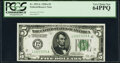 Fr. 1951-L $5 1928A Federal Reserve Note. PCGS Very Choice New 64PPQ