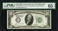 Small Size:Federal Reserve Notes, Fr. 2002-E $10 1928B Federal Reserve Note. PMG Gem Uncirculated 65 EPQ.. ...