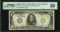 Fr. 2212-G $1,000 1934A Federal Reserve Note. PMG Very Fine 30