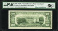 Partial Offset Printing of Front to Back Error Fr. 2071-D $20 1974 Federal Reserve Note. PMG Gem Uncirculated 66 EPQ...