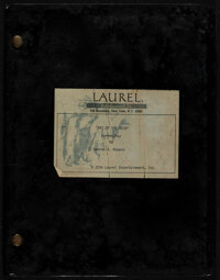 """Day of the Dead (Laurel Entertainment, 1984). Very Fine-. Second Version First Draft Script (155 Pages, 9"""" X 11.5&q..."""