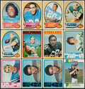 Football Cards:Lots, 1970 to 1973 Topps Football Collection (317). ...