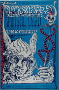 Music Memorabilia:Posters, BG-144 Grateful Dead, Quicksilver 1968 Fillmore West Conce...