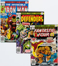 Bronze Age (1970-1979):Superhero, Marvel Bronze Age Box Lot (Marvel, 1970s) Condition: Average FN....