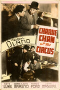 """Movie Posters:Mystery, Charlie Chan at the Circus (20th Century Fox, 1936). Fine/Very Fine. Meloy Brothers Poster (40"""" X 60"""").. ..."""
