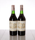 Red Bordeaux, Chateau Haut Brion 1982 . Pessac-Leognan . Bottle (2). ... (Total: 2 Btls. )