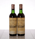 Chateau La Mission Haut Brion 1966 Pessac-Leognan 1ts, 1vhs, 2bsl, 2gsl Bottle (2)