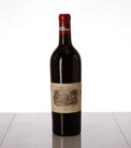 Red Bordeaux, Chateau Lafite Rothschild 1929 . Pauillac . bsl, tl, reconditioned at the Chateau in 1992, excellent color. Bottle (1). ... (Total: 1 Btl. )