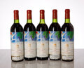 Chateau Mouton Rothschild 1982 Pauillac 1bn, 1ts, 5lwisl Bottle (5)