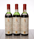 Chateau Latour 1961 Pauillac 2hs, 1ms, 3lscl, 1ssos Bottle (3)