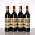 Red Bordeaux, Chateau Lafite Rothschild 1995 . Pauillac . 2nc. Bottle (4). ... (Total: 4 Btls. )