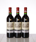 Red Bordeaux, Chateau Lafite Rothschild 1999 . Pauillac . Bottle (3). ... (Total: 3 Btls. )