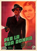 "Movie Posters:Drama, Jump for Glory (United Artists, 1937). Fine/Very Fine on Linen. Italian 4 - Fogli (55.5"" X 78"") Luigi Martinati Artwork, Ame..."