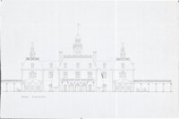 Disneyland Railroad, Hall of Presidents, Walt Disney's Home Plans Group of 4 (Walt Disney, c. 1950-60s). ... (Total: 4 )