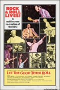 """Movie Posters:Rock and Roll, Let the Good Times Roll (Columbia, 1973). Flat Folded, Very Fine. One Sheet (27"""" X 41"""") Style B. Rock and Roll.. ..."""