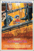 """Movie Posters:Animation, An American Tail (Universal, 1986). Rolled, Fine/Very Fine. Multi Signed One Sheet (27"""" X 41"""") SS Advance, Drew Struzan Artw..."""