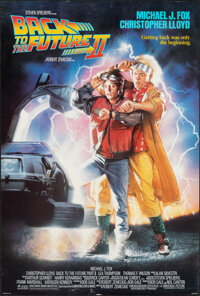 """Back to the Future Part II (Universal, 1989). Rolled, Very Fine. One Sheet (26.75"""" X 39.75"""") SS, Drew Struzan..."""