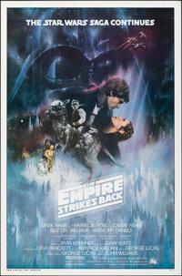 """The Empire Strikes Back (20th Century Fox, 1980). Rolled, Very Fine. One Sheet (27"""" X 41"""") Style A, Roger Kast..."""