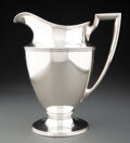 Silver & Vertu, A Tiffany & Co. Silver Pitcher, New York, circa 1911. Marks: TIFFANY & CO., MAKERS, STERLING SILVER, 18181, M, 4 PINTS. ...