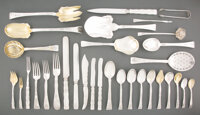 A Two Hundred-Thirty-Piece Tiffany & Co. Lap-Over-Edge Pattern Silver Flatware Service for E... (Total: 230)