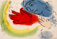 Marc Chagall (1887-1985) L'ecuyere, 1956 Lithograph in colors on wove paper 14-3/8 x 21 inches (3