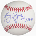 Autographs:Baseballs, Kenny Rogers Single Signed & Perfect Game Inscribed Baseball....