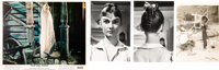 Audrey Hepburn Personally Owned Photos Circa War and Peace (3) With Lobby Card