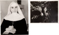 Movie/TV Memorabilia:Photos, Audrey Hepburn Owned Stills from The Nun's Story (1958) and Green Mansions