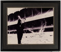 Autographs:Photos, Mickey Mantle Signed Oversized Photograph. ...