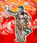 Paintings, Zhao Gang (Chinese, b. 1961). Untitled. Acrylic on canvas. 60 x 51 inches (152.4 x 129.5 cm). ...