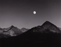 Ansel Adams (American, 1902-1984) Moonrise from Glacier Point, Yosemite National Park, California, 1939 Gelatin silver...