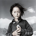 Photographs, Phil Borges (American, 1942). Yama, Eight Years Old, Lhasa, Tibet, 1994. Gelatin silver, masked, bleached, and toned, pr...