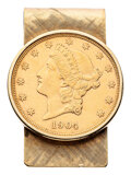Estate Jewelry:Other, U.S. Gold Coin, Gold Money Clip. ...