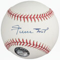 Autographs:Baseballs, Willie Mays Single Signed Baseball. Offered is th...