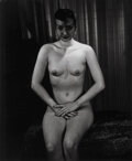Photographs, Weegee (American, 1899-1968) Seated Nude wit...