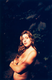 Ryan McGinley (American, 1977) Lily (Woods), 2005 Digital pigment 24 x 15-7/8 inches (61.0 x 40