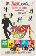 """Movie Posters:Rock and Roll, Twist Around the Clock (Columbia, 1961). Folded, Fine/Very Fine. One Sheet (27"""" X 41""""). Rock and Roll.. ..."""