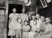 Jack Delano (American, 1914-1997) Group of 5 Farm Security Administration Photographs, 1940-1941 Gel