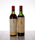 Red Bordeaux, Chateau Latour . Pauillac. 1951 ts, bsl, nl, excellent color Bottle (1). 1954 ts, bsl, nl, excellent color Bot... (Total: 5 Btls. )