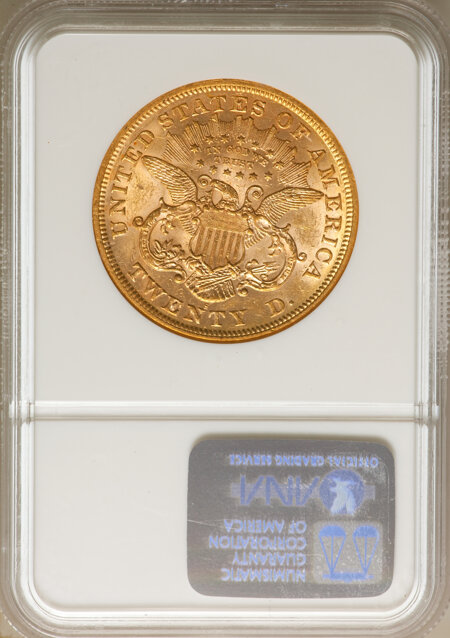 1873-S $20 Closed 3 58 NGC