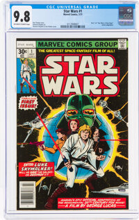 Star Wars #1 (Marvel, 1977) CGC NM/MT 9.8 Off-white to white pages