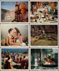 """Movie Posters:Adventure, Atlantis, the Lost Continent (MGM, 1961). Overall: Very Fine-. Color Photo Set of 12 (8"""" X 10"""") (Two Photos Trimmed) (Approx... (Total: 12 Items)"""