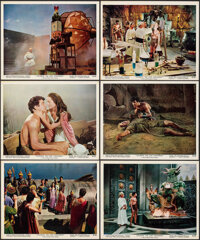 """Atlantis, the Lost Continent (MGM, 1961). Overall: Very Fine-. Color Photo Set of 12 (8"""" X 10"""") (Two Photos Tr..."""