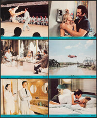 "The Man with the Golden Gun (United Artists, 1974). Very Fine-. Mini Lobby Cards (6) (8"" X 10"") Robert McGinni..."