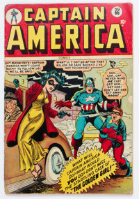 Captain America Comics #66 (Timely, 1948) Condition: Incomplete
