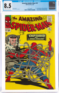 The Amazing Spider-Man #25 (Marvel, 1965) CGC VF+ 8.5 Off-white to white pages
