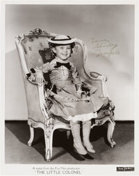 Shirley Temple Signed and Inscribed The Little Colonel Promo Picture